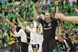 Viborg celebrate their first victory of the season