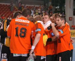 Schaffhausen will need team spirit to beat Veszprém...