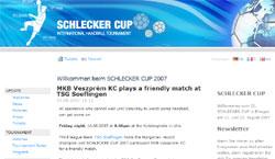 The tournament has a professional web platform on three languages