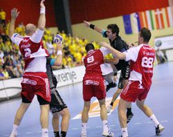Szeged are on top of the table after two rounds