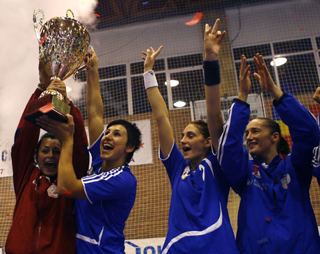 Valcea started the season by winning the Champions Trophy