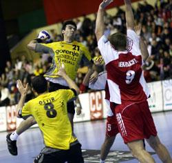 Velenje's Blazevic scoring one of the 38 home goals