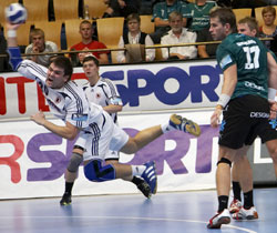 Grubanov (on the right) is a severe loss for Viborg