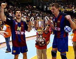 The big generation won two titles after beating Kiel