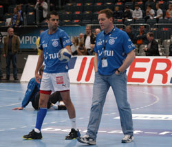 Zrnic and Gislasson in harmony before the quarterfinal last year