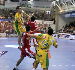 Both games of Celje and Veszprém were huge battles