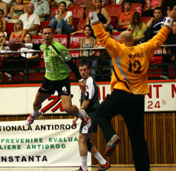 Constanta have easily qualified against Sasja