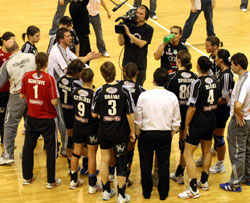 Konkoly with his team