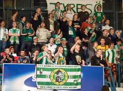The fans will give good support in the CL again