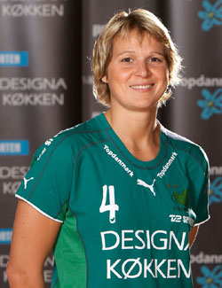 Grit Jurack has been with Viborg since 2005