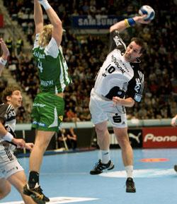 An old friend still plays for Kiel, Lövgren