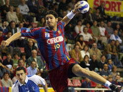 Nagy has become key player for the Catalonian club