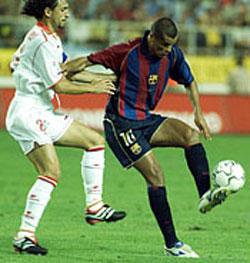 Brazilian influence on the handballer: Rivaldo (photo by courtesy of www.fcbarcelona.cat)