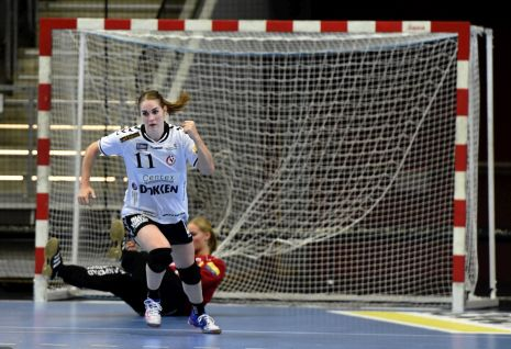 aee29f62a9 Van der Heijden scored 11 times on her Champions League debut as Team  Esbjerg clinched a resounding 35 25 win. And they followed up the next week  by winning ...