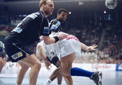 Against Veszprém in the CL Final still as a Magdeburg player