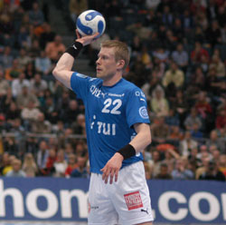 Sigurdsson is with the coach in Gummersbach and in the national team as well