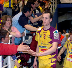 Gull was very popular in Valladolid, the Barca fans will surely like him as well
