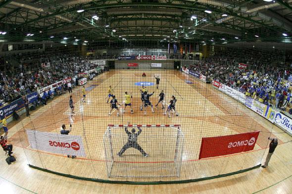 The hall of Cimos Koper will host the team of Kopenhagen