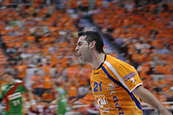 Aragon's Llorente was playing in good form in the EHF Cup