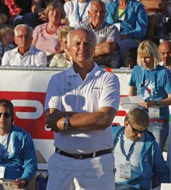 Arne Modahl, president of the Norwegian Organising Committee