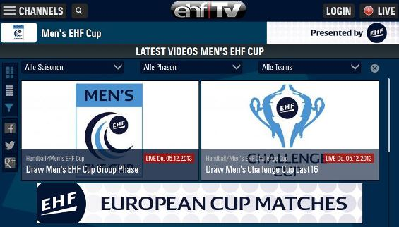 Furthermore, the up-to-the-second coverage of both draws will be available via liveticker on www.eurohandball.com and on @ehfmedia Twitter channel.