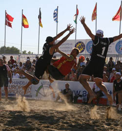 Beach Handball Image